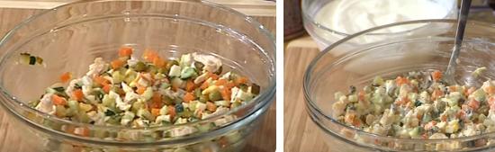 оливье классический рецепт