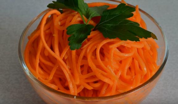 рецепт моркови по-корейски в домашних условиях