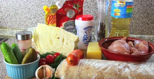 шаурма в домашних условиях рецепт с фото