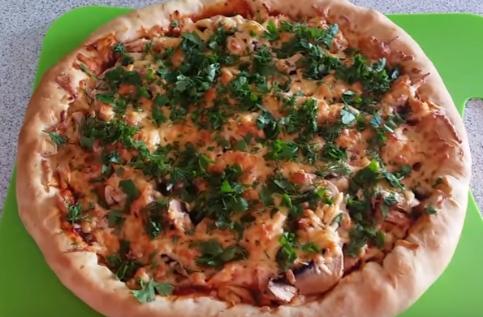 рецепт пиццы в духовке в домашних условиях