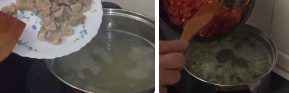 рассольник с перловкой и солеными огурцами рецепт