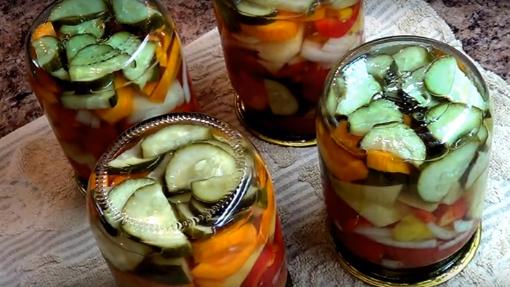 салаты на зиму рецепты
