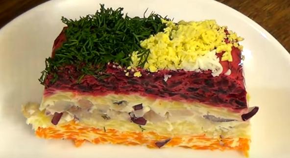 селёдка под шубой классический рецепт слои