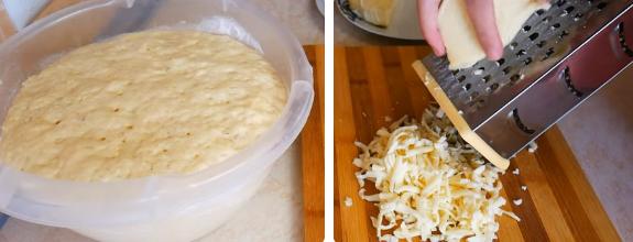 хачапури с сыром рецепт с фото