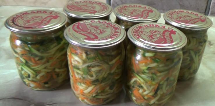 кабачки по-корейски самый вкусный рецепт